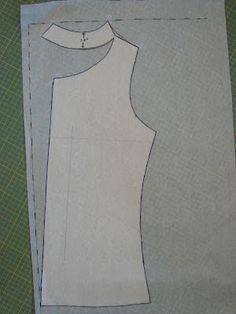 PoldaPop Designs: Tutorial gratuito de coser: Proyecto de un cuello de la capucha
