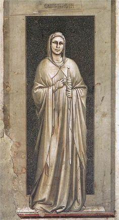 Giotto di Bondone - Temperance