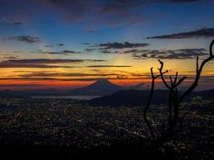 Dusk - San Salvador, El Salvador. ❤ Past. #beenthere #notmypic