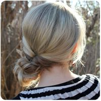 Hairstyle Gallery by Abby Smith of TMP. Hairstyle tutorials for long & short hair, hair care, little girl's hairstyles, and hairstyle challenge. Diy Hairstyles, Pretty Hairstyles, Hairstyle Tutorials, Halloween Hairstyles, Wedding Hairstyles, Bun Tutorials, Homecoming Hairstyles, Updo Hairstyle, Medium Hairstyles
