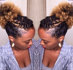 15 easy protective styles you can do even if you suck at hair hair easy to do solutioingenieria Gallery