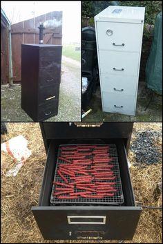 Cool smoker | Back yard smoke house | Pinterest | Outdoor cooking ...