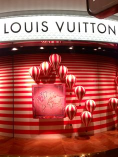 LK By Lincoln Keung: LOUIS VUITTON Window Display -- PACIFIC PLACE -- Hong Kong