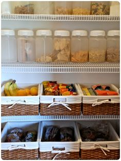 My kitchen pantry is still one of my very favorite DIY projects to date. I love an organized space where everything has a place. It is pretty and it is functional. Today I want to share with you ev…
