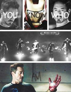 I love him. He makes my day every time I see his face. Tony Stark is my hero.