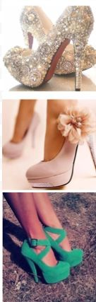 Perfect Heels for All Kinds of Occasions :)