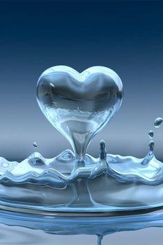 ♥  Water droplet