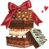 Brownies & Bars! Gooseberry Patch original artwork.
