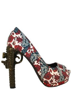 Gun Heel - Guns N Roses (they're so tacky how could I NOT love them? I mean seriously...)