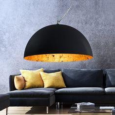 LED Decken Hänge-Leuchte Esszimmer Wohnzimmer Küchen Antik Braun Gold Lampe NEU