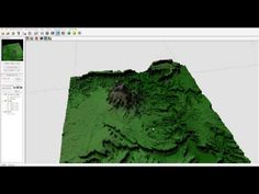 DEM maps importing enchance details, World Machine and Vue workflow - YouTube