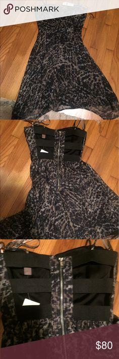 Selling this Charlie Jade Minka silk backless dress on Poshmark! My username is: vintagenikki. #shopmycloset #poshmark #fashion #shopping #style #forsale #charlie jade #Dresses & Skirts