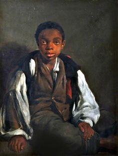 "1800s Week! gemilemon submitted to medievalpoc 'The Black Boy', by William Windus, c.1844 Oil on canvas 76.1 x 63.5cm In the Walker Art Gallery, National Museums Liverpool, United Kingdom "" The boy in this portrait is said to have crossed the..."
