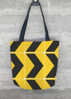 VIDA Tote Bag - Bright Composition by VIDA