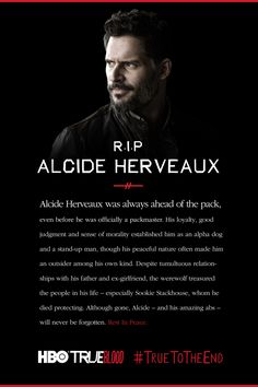 """Alcide Herveaux, as played by Joe Manganiello, met his death on """"Fire in the Hole,"""" episode 3 of Season 7 of 'True Blood.'"""