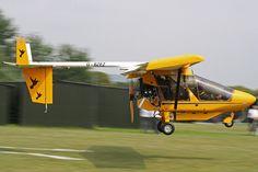 CFM Streak Shadow G-BZEZ #aviation #aircraft #microlight #ultralight #single #piston #rotax #uk