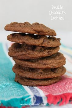 Double Chocolate Nutella Cookies Recipe on Yummly