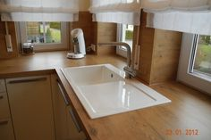 Magnolias Küche wurde weiß (Hochglanz-Lack) - Fertiggestellte Küchen - Leicht Largo FG Hochglanz Lack weiß