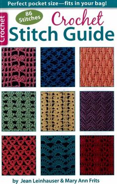 Maggie's Crochet · Crochet Stitch Guide #crochetstitches