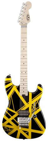 EVH Eddie Van Halen Striped Series Electric Guitar