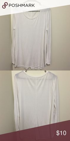 NWOT Mossimo XL Cream Tunic NWOT never been worn Mossimo Tunic. Great longer length for us taller girls! Mossimo Supply Co Tops Tees - Long Sleeve