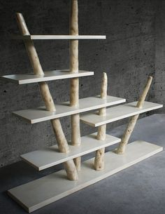 Open freestanding #bookcase TRUNKS by Karpa