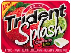 Trident Splash Strawberry Gum with Lime 9Piece Packages Pack of 30 >>> For more information, visit image link.Note:It is affiliate link to Amazon. #HealthyRecipes