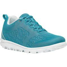 Women's Propet TravelActiv Bungee Lace Shoe Pacific Mesh/Polyurethane (US Women's 2A (Narrow))