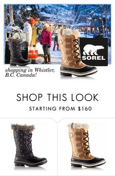 """Introducing the 2015 Winter Collection from SOREL: Contest Entry"" by patricia-dimmick on Polyvore featuring Chanel and SOREL"