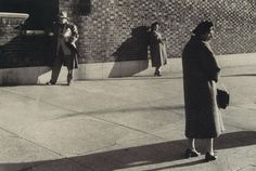 Untitled, Three Figures, 1960 Gary Winogrand