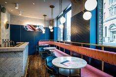 Clerkenwell Grind- Where Restaurant Interior Design Meets Inspiration | www.contemporarylighting.ey | #contemporarylighting #lightingdesign #restaurantdecor