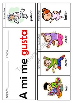 Sight words - 26 Flip books (Pre-k/K/1st) Spanish/English product from mzmary on TeachersNotebook.com