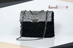 Chanel bag luxury style..crochet bag..handibrand