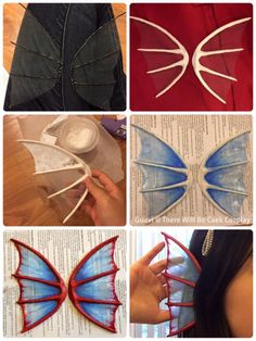 Ear fins for Undyne tutorial cosplay Cosplay Diy, Cosplay Dress, Cosplay Makeup, Halloween Cosplay, Costume Makeup, Nami Cosplay, Cosplay Wings, Cosplay Pokemon, Batman Cosplay
