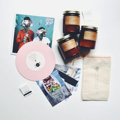 Candle + Vinyl Pairing | Turntable Kitchen