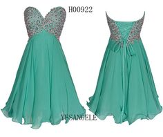 Short Homecoming Dress 2014, Short Prom Dress, Cocktail Dress, Green Bridesmaid Dresses, Sweet 16 Dresses, Evening Gown on Etsy, $102.99