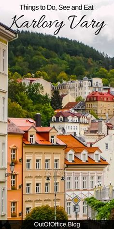 Things to Do in Karlovy Vary: Hot Springs of Healing Waters Out of Office Europe Destinations, Europe Travel Guide, Travelling Europe, Traveling, Europe Packing, Backpacking Europe, Packing Lists, Travel Packing, Travel Guides