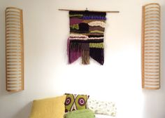 """Shyama Tulsi "" weaving XXL by Naiscraft : now available on Etsy !! Etsy Shop Open !!"