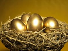 The golden eggs laid by the golden goose ♥
