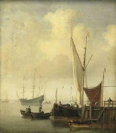 Willem van de Velde de Jonge - Havengezicht
