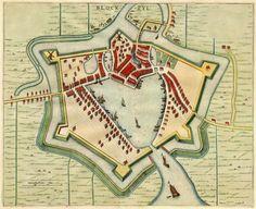 Blockzyl, The Netherlands - Blaeu,1649