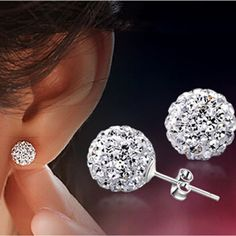 Cheap earring pattern, Buy Quality earrings pink directly from China earrings animal Suppliers: 	  	Brand Fashion Earrings 2014 Piercing Bijoux Mix Color Micro Disco Ball Earring Studs Clay CZ Crystal Earrings F