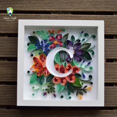 Alphabet C Paper Quilling On Behance in Paper Crafts Quilling Letters Neli Quilling, Quilled Roses, Origami And Quilling, Quilling Paper Craft, Paper Crafts For Kids, Diy Arts And Crafts, Quilling Letters, Paper Quilling Patterns, Paper Quilling For Beginners