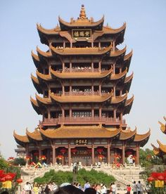 Ancient Chinese Architecture and Historical Towns - Huang-he tower