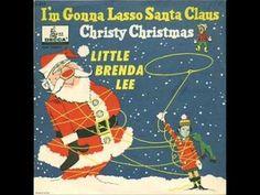 - Little Brenda Lee - I'm Gonna Lasso Santa Claus / Christy Christmas - Decca Children's Series - USA - Christmas Cover, Christmas Albums, Christmas Books, Christmas Music, Retro Christmas, Vintage Christmas Cards, Christmas Videos, Christmas Things, Xmas Songs