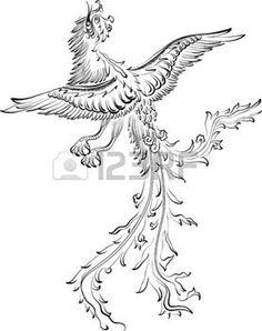 tatouage signe zodiaque: Dragon asiatique traditionnelle. Cette illustration est idéal pour une mascotte et le tatouage ou T-shirt graphique.
