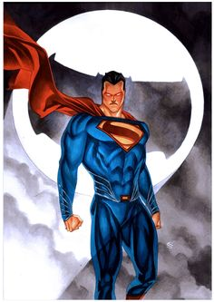 #Superman #Fan #Art. (Dawn of Justice) By: THONY SILAS. ÅWESOMENESS!!!™ ÅÅÅ+
