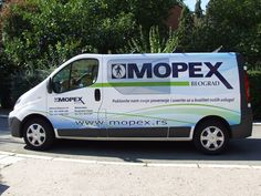 Brendiranje vozila i poslovnih prostora Pacarti studio Beograd Srbija Reklame Mopex #Brendiranjevozila