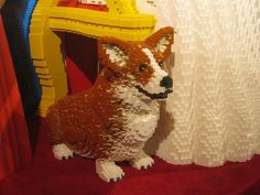 A life-size Lego Corgi displayed in a toy store in London last year, for the Queen's Diamond Jubilee
