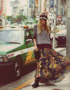 Lost in Tokyo- Free People | Forever Boho